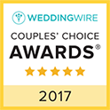 Wedding Wire Couples' Choice awards 2017 logo