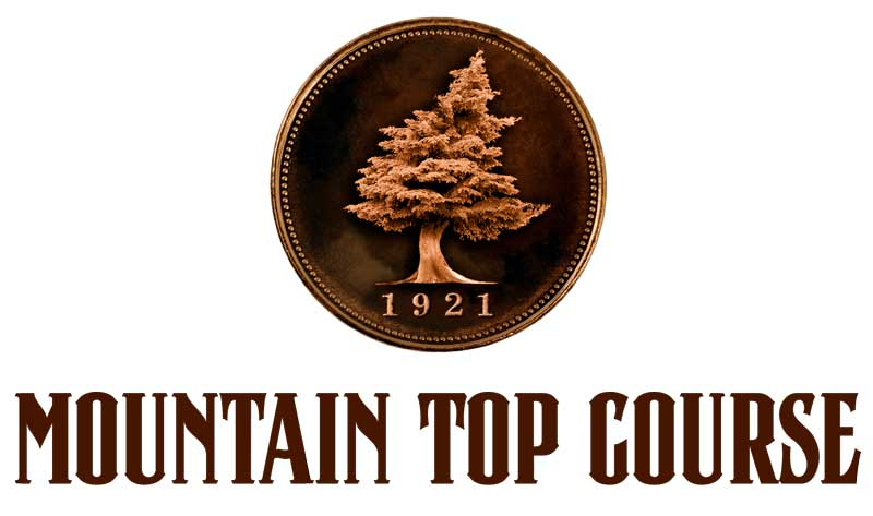 Mountain Top Golf Course Logo