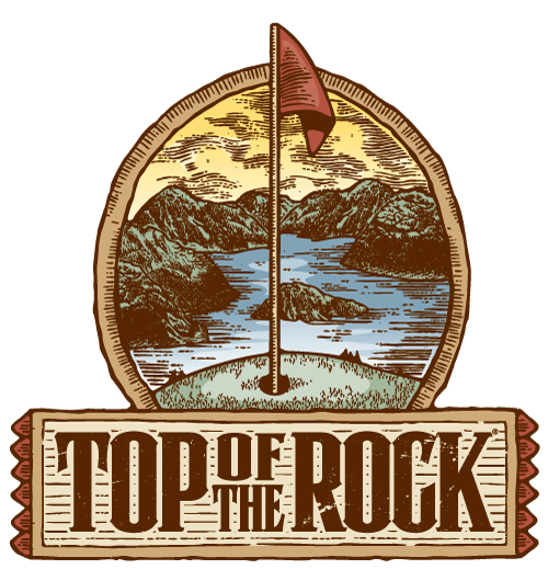 Top of the Rock Golf course logo