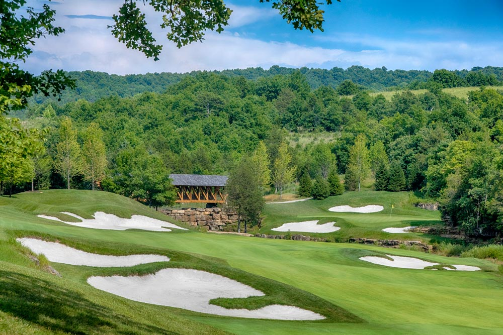 Buffalo Ridge Springs Golf Course - Hole 14 - Golf at Big Cedar Lodge