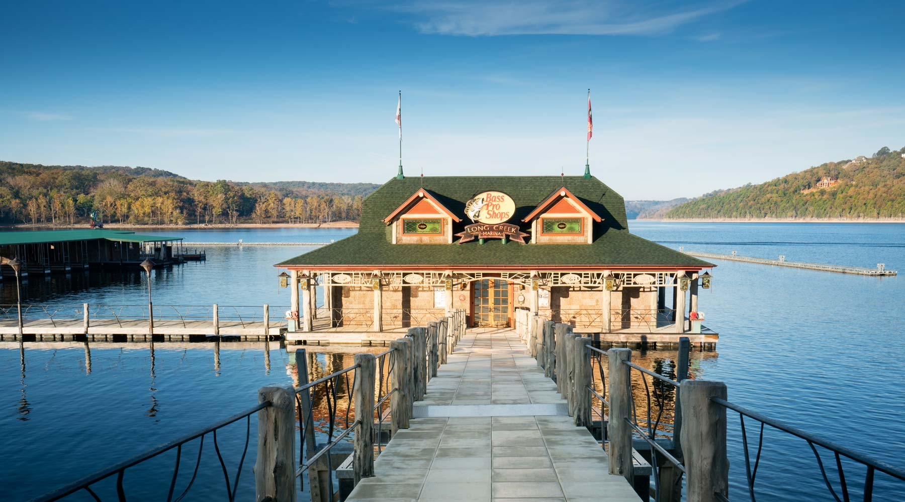 Long Creek Marina Attractions Big Cedar Lodge