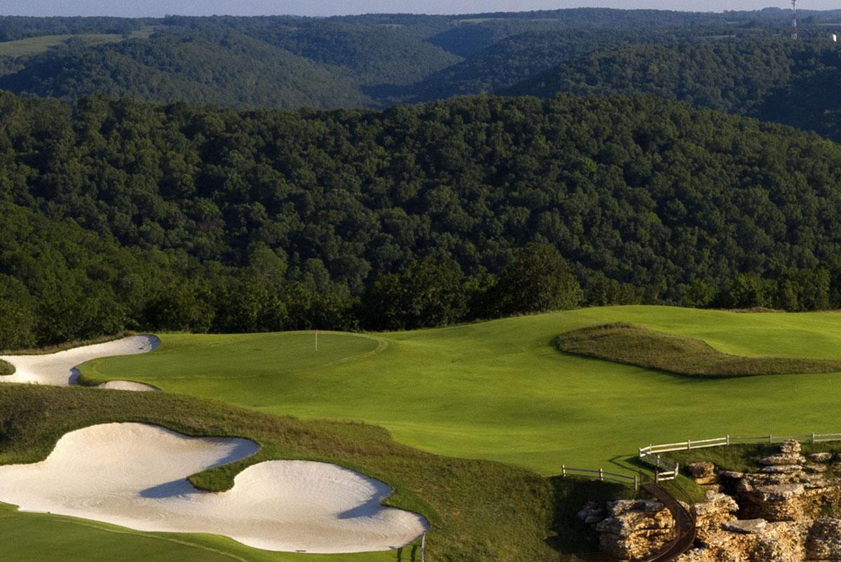 Mountain Top Golf Course | Big Cedar Lodge | Branson, Mo