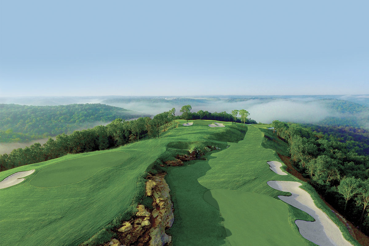 Mountain Top Golf Course - Hole 5 - Golf at Big Cedar Lodge