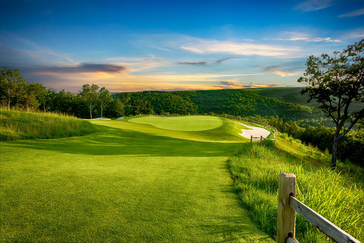 Mountain Top Golf Course - Hole 7 - Golf at Big Cedar Lodge