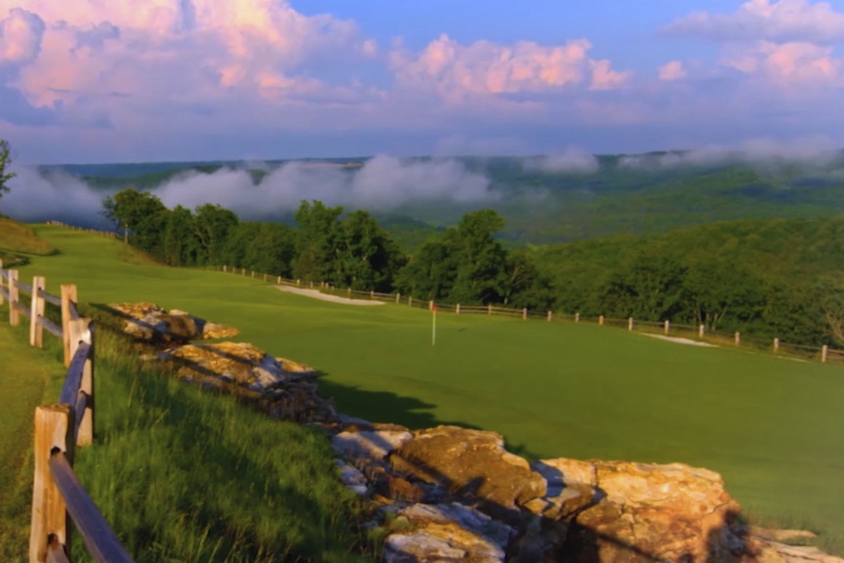 Mountain Top Golf Course - Hole 8 - Golf at Big Cedar Lodge