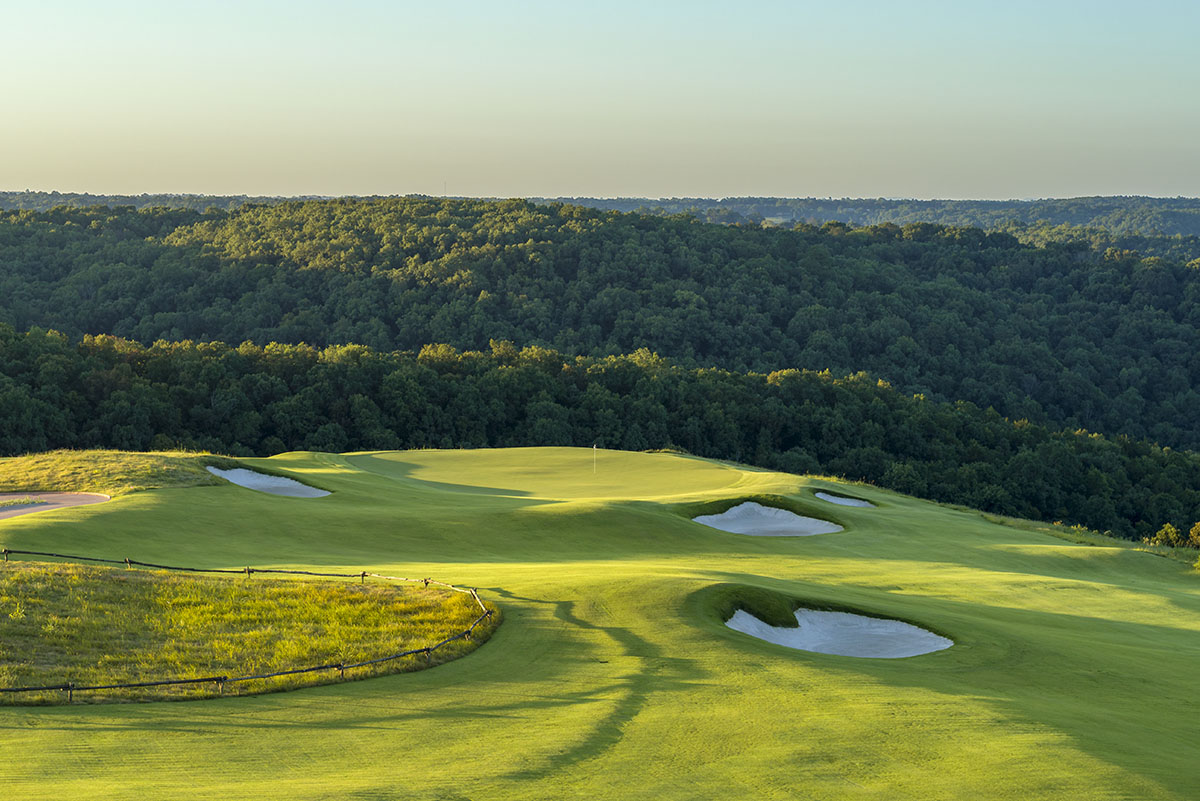 Ozarks National Golf Course - Hole 4 - Golf at Big Cedar Lodge
