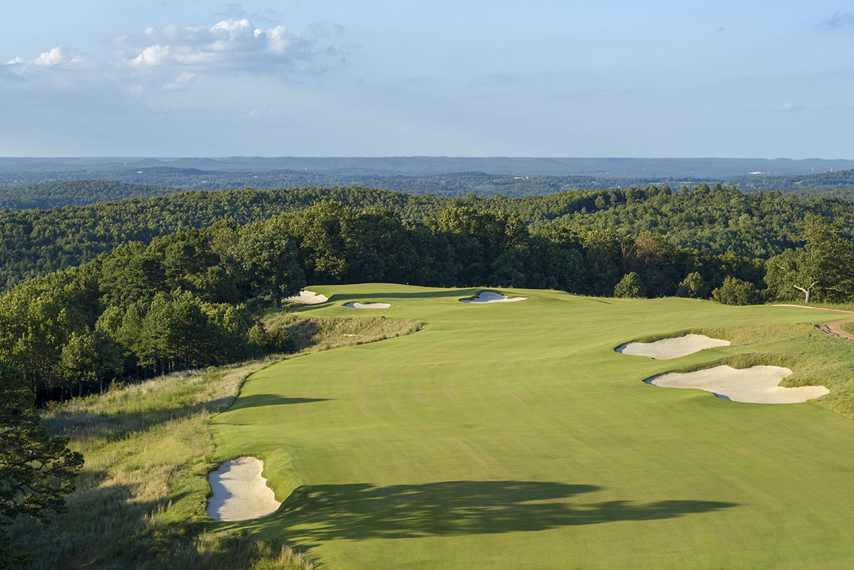 Ozarks National Golf Course - Hole 7 - Golf at Big Cedar Lodge