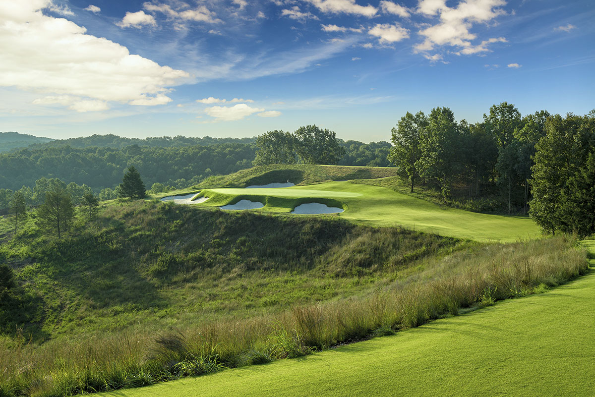 Ozarks National Golf Course - Hole 8 - Golf at Big Cedar Lodge