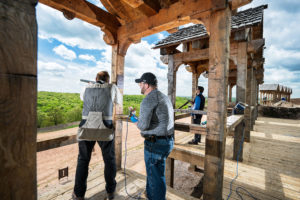 Bass Pro Shops Shooting Academy at Big Cedar skeet shooting stations