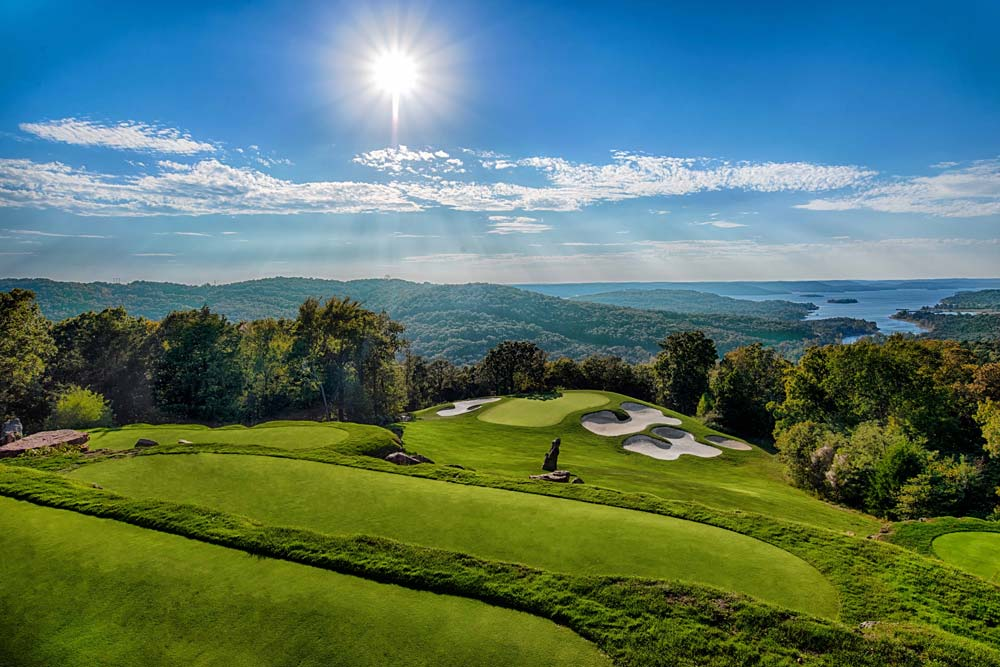 Top of the Rock Golf Course - Hole 2 - Golf at Big Cedar Lodge