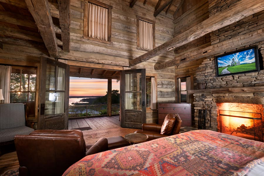 Jack's Cabin at Top of the Rock at Big Cedar exclusive accommodations opportunity