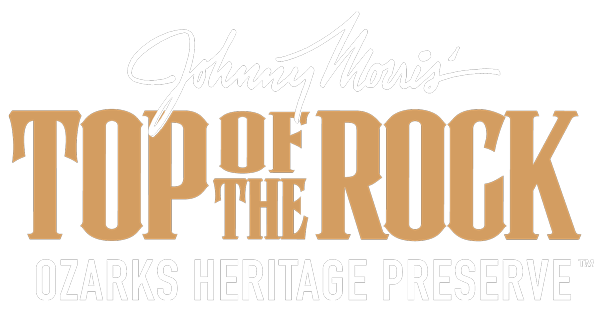 Johnny Morris' Top of the Rock Ozarks Heritage Preserve logo