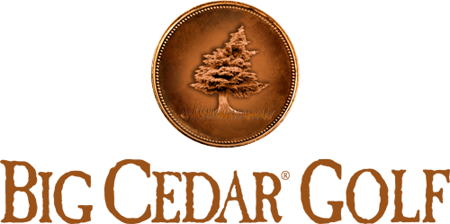 Big Cedar Golf medallion logo