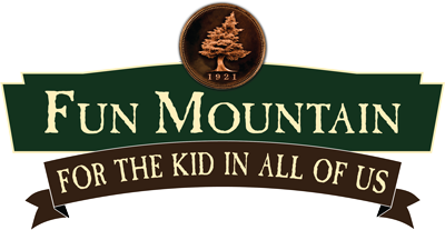 Fun Mountain attraction logo at Big Cedar