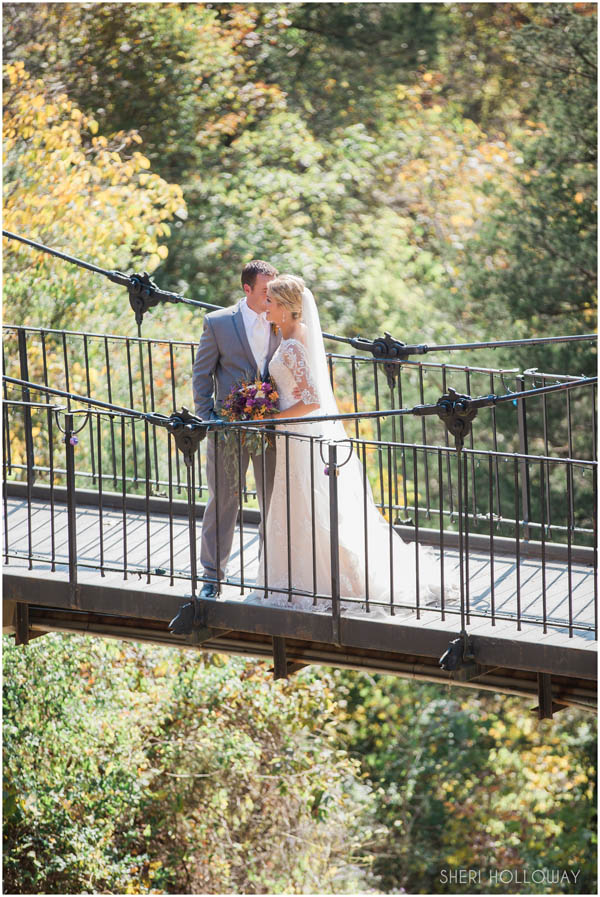 Real Weddings at Big Cedar Lodge - Brooke and Adam