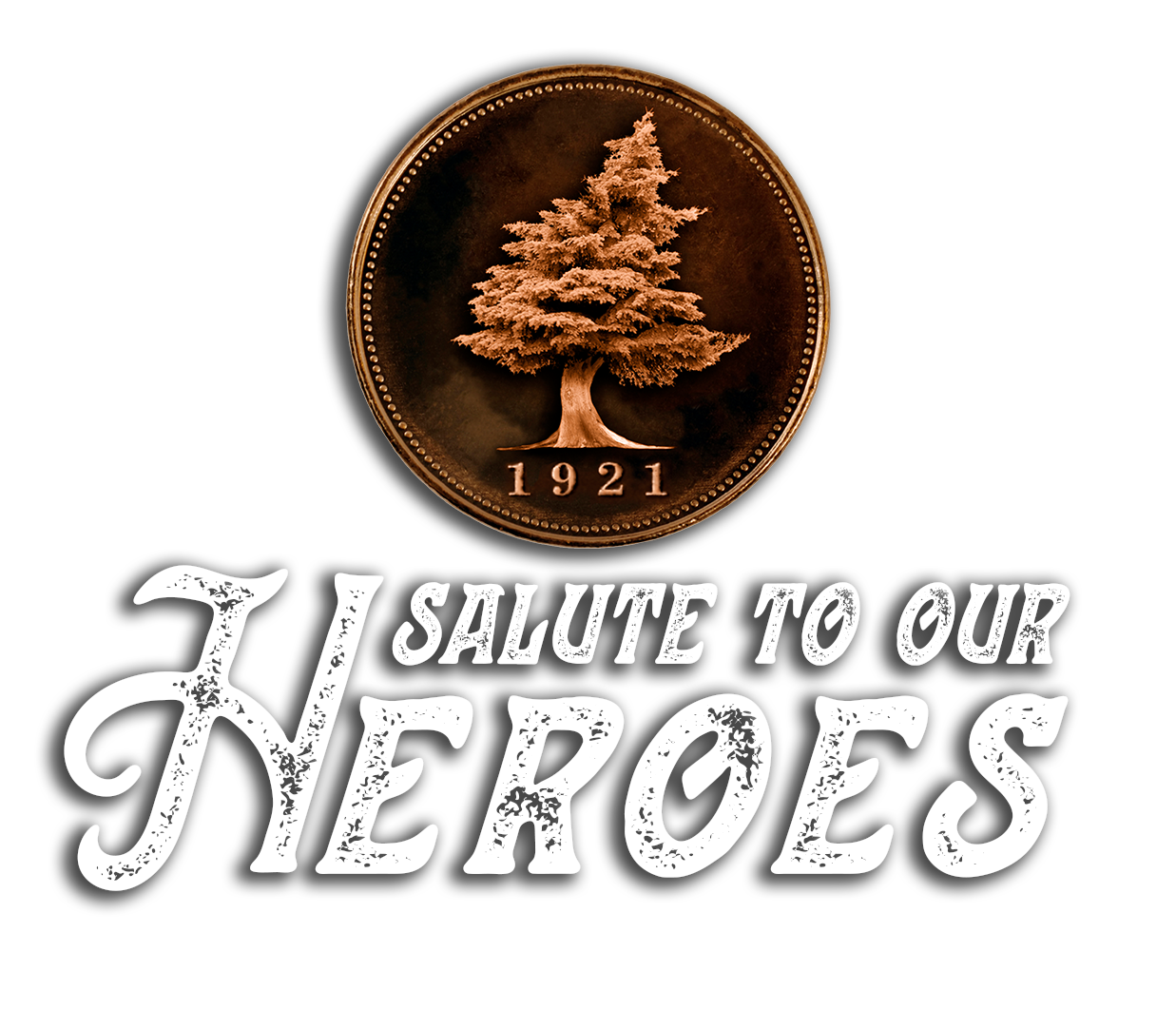 Salute to our Heroes event logo