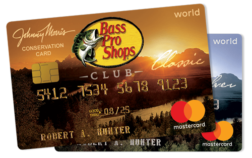 Bass Pro Shops CLUB cards