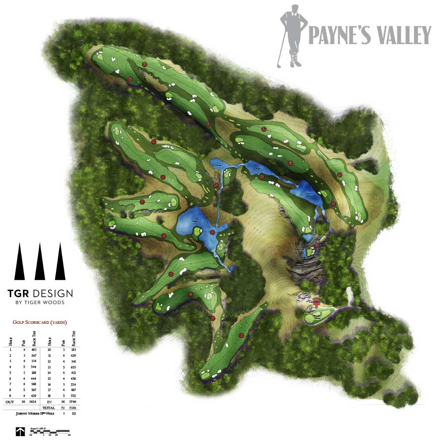 Payne's Valley Course Rendering