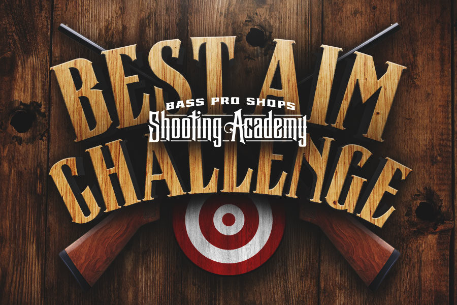 Bass Pro Shops Shooting Academy Best Aim Challenge Logo