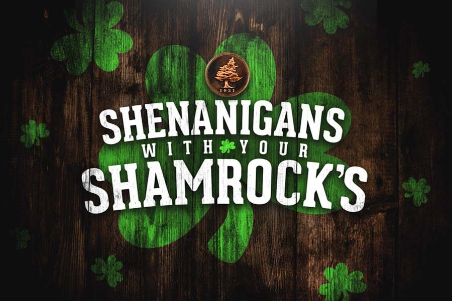 Big Cedar Lodge Shenanigans With Your Shamrock's Logo