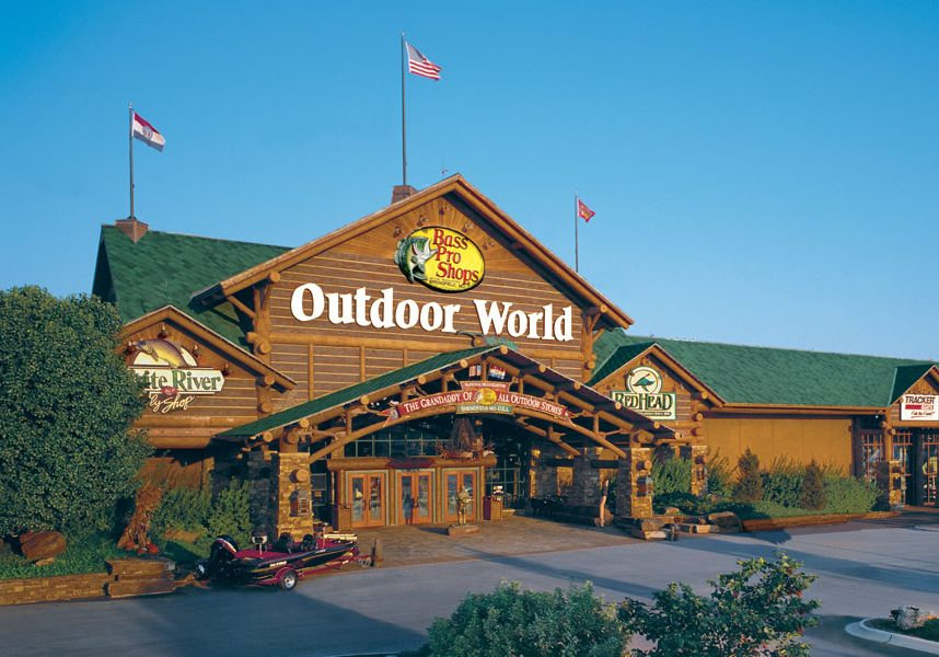 Bass Pro Shops Outdoor World storefront