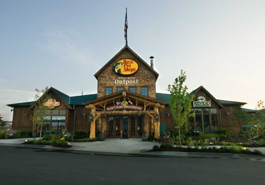 Bass Pro Shops White River exterior store front